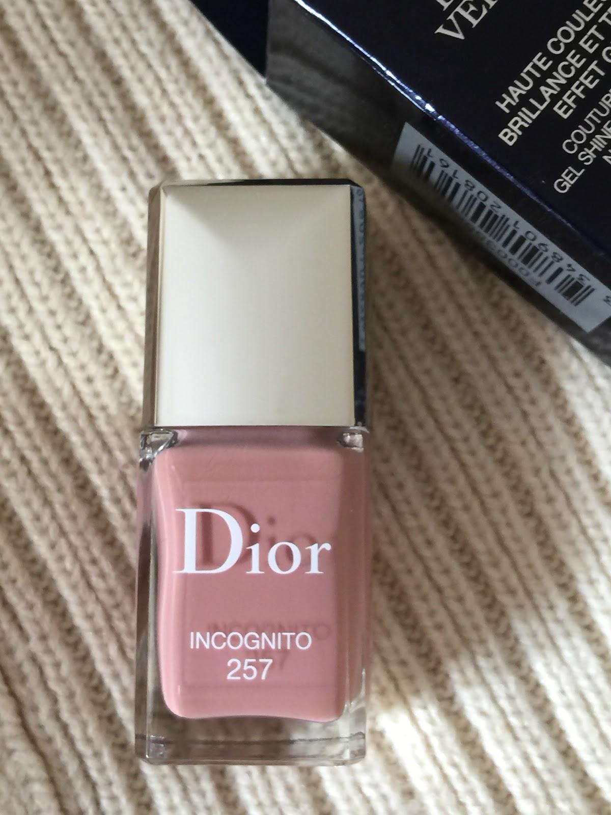 G R A C E E L E G A N C E Dior Vernis Nail Lacquer 257