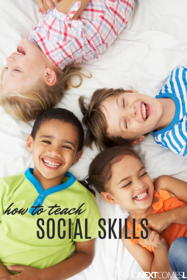 Teaching social skills to an autistic child