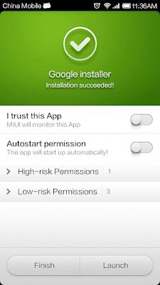 Mengatasi Google Play Store Hilang di Hp Xiaomi (Xiaomi Redmi Note 3, Mi4 Mi4i dll)