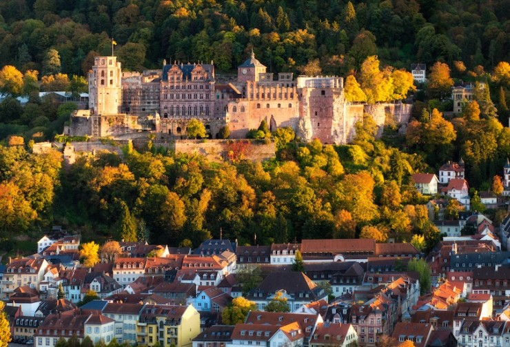Top 10 Wonderful German Castles - Heidelberg