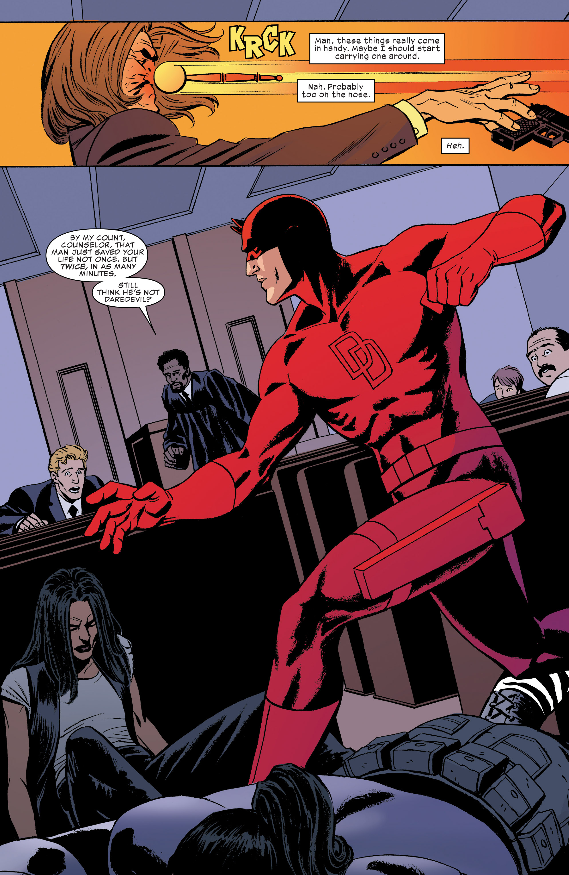 Read online Daredevil (2016) comic -  Issue #22 - 17
