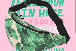 Jual Tas Pinggang atau Waist Bag Lokasi Bandung Murah Meriah Pembelian Online