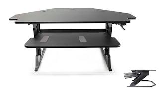Volante corner desk attachment
