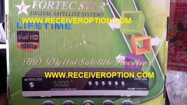 FORTEC STAR LIFE TIME HD RECEIVER BISS KEY OPTION