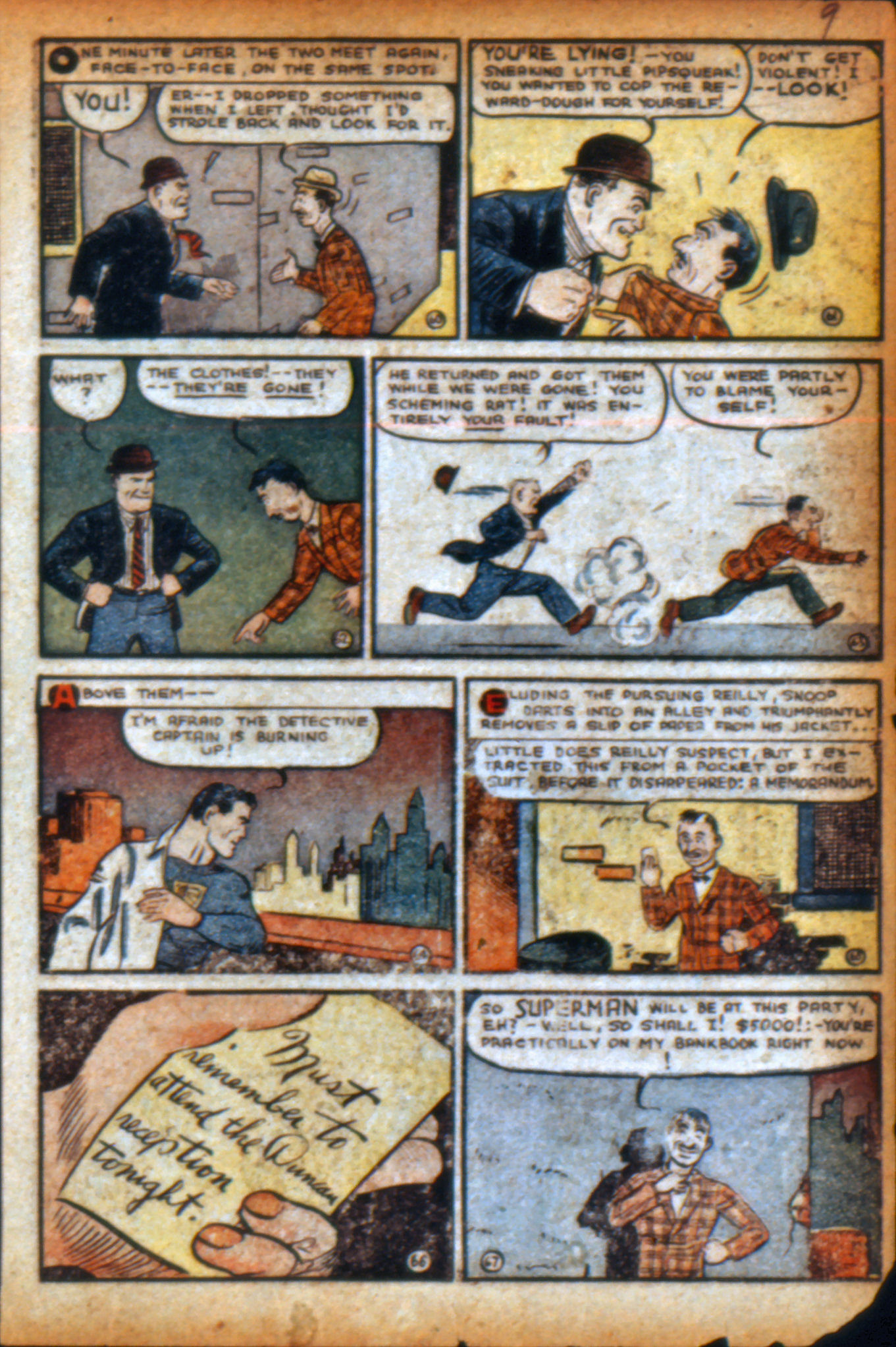 Read online Action Comics (1938) comic -  Issue #9 - 12