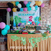 Birthday Party Tema Dinosaur