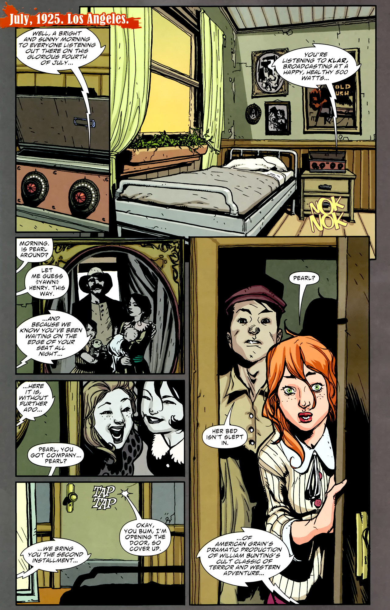 Read online American Vampire comic -  Issue #2 - 3