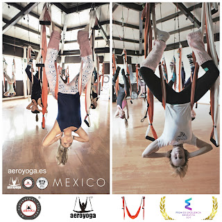FORMACION PROFESORES AERO YOGA MEXICO, UN METODO DE RAFAEL MARTINEZ , MARCA REGISTRADA EN MEXICO,  ACREDITACION IAA INTERNATIONAL AEROYOGA® ASSOCIATION