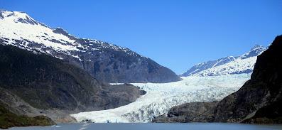 Mendenhall Glacier in Juneau, Alaska cruise port