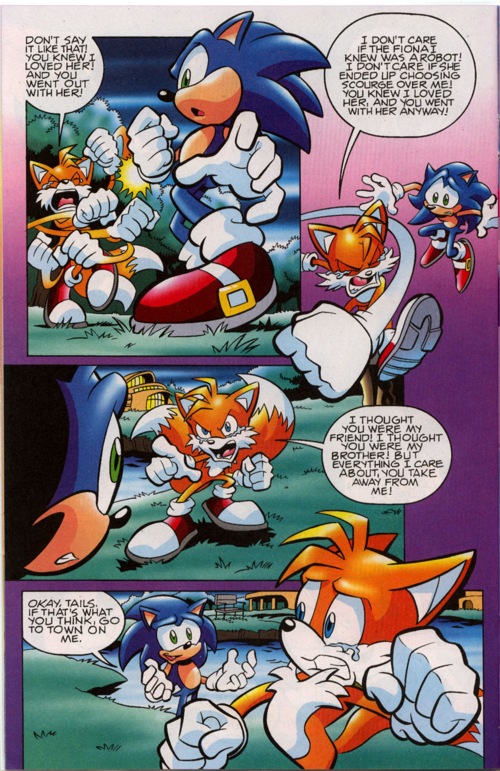 Read online Sonic The Hedgehog comic -  Issue #179 - 11