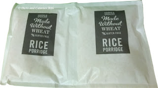marks and spencer rice porridge packets