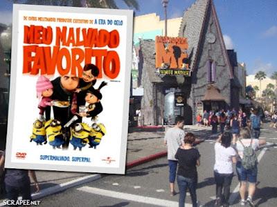 Meu Malvado Favorito _ Universal Studios
