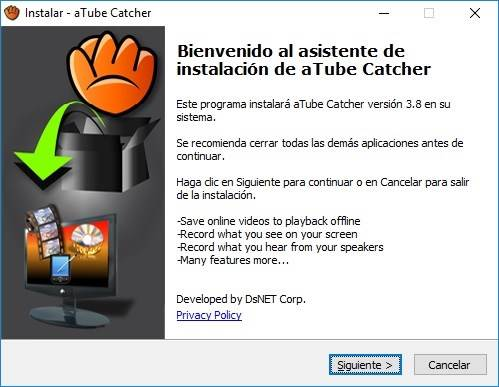 aTube Catcher full imagenes