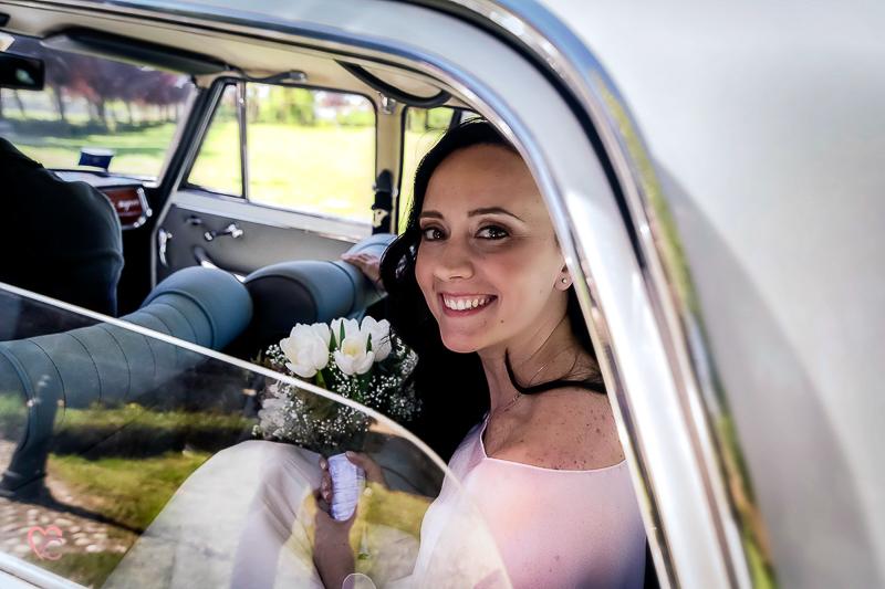 Matrimonio di Alessia e fabio, arrivo della sposa