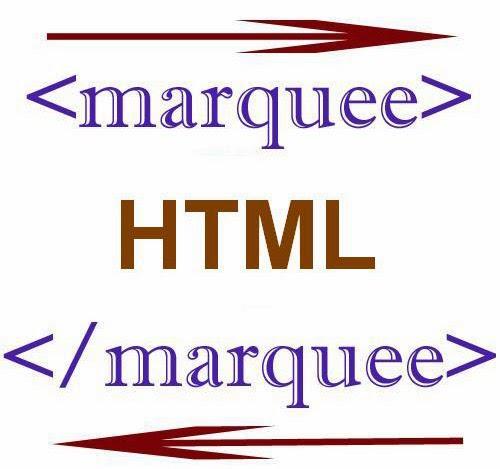 Cara membuat text berjalan di halaman html marquee