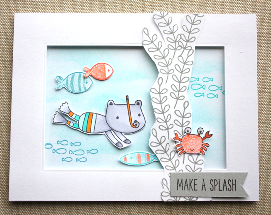Soak up the Fun stamp set - Donna Gourley #mftstamps