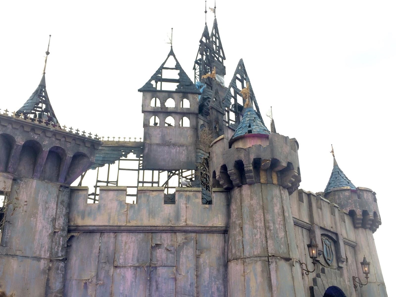 Banksy Dismaland Fairytale Castle