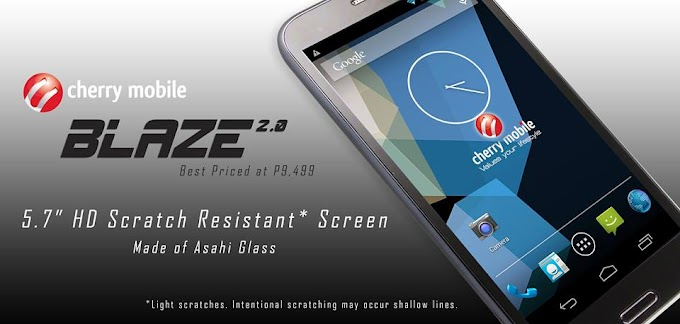 Cherry Mobile Blaze 2.0 android phone (Price and Key Features)