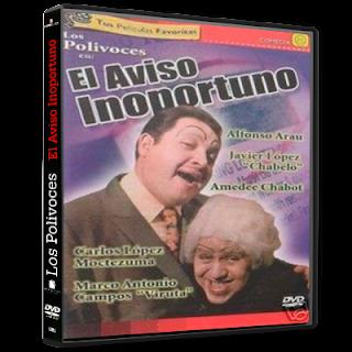 El aviso inoportuno (1969) DVD