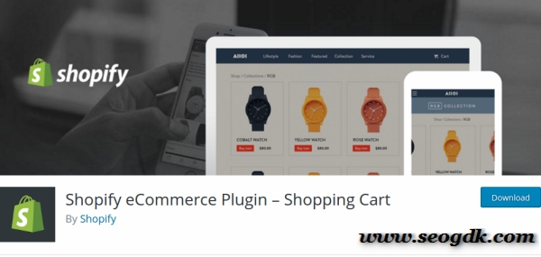 Shopify WordPress Plugin