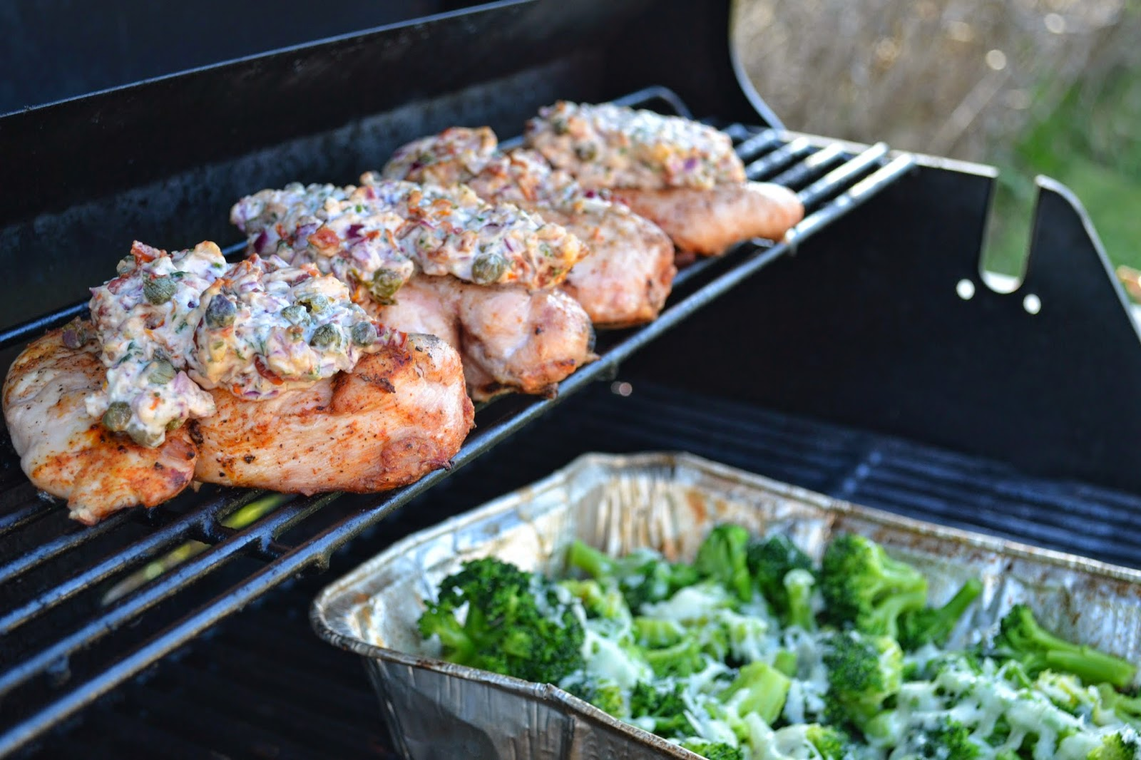 Torka kraver forsiktig grillning