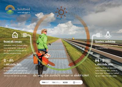 pista ciclabile energia solare