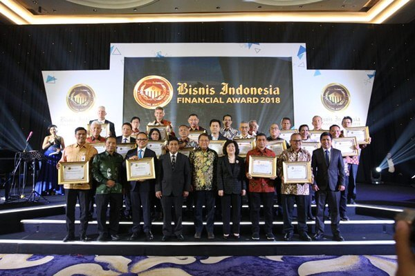 Malam Apresiasi Bisnis Indonesia Financial Award (BIFA) 2018