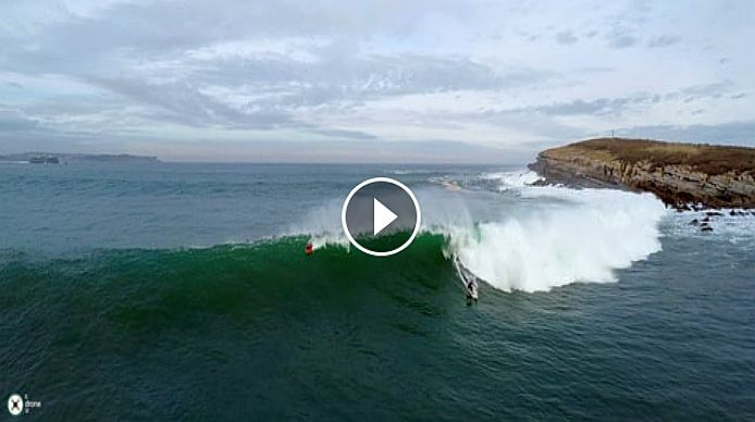 Christmas Surfing Drone 4K 2015