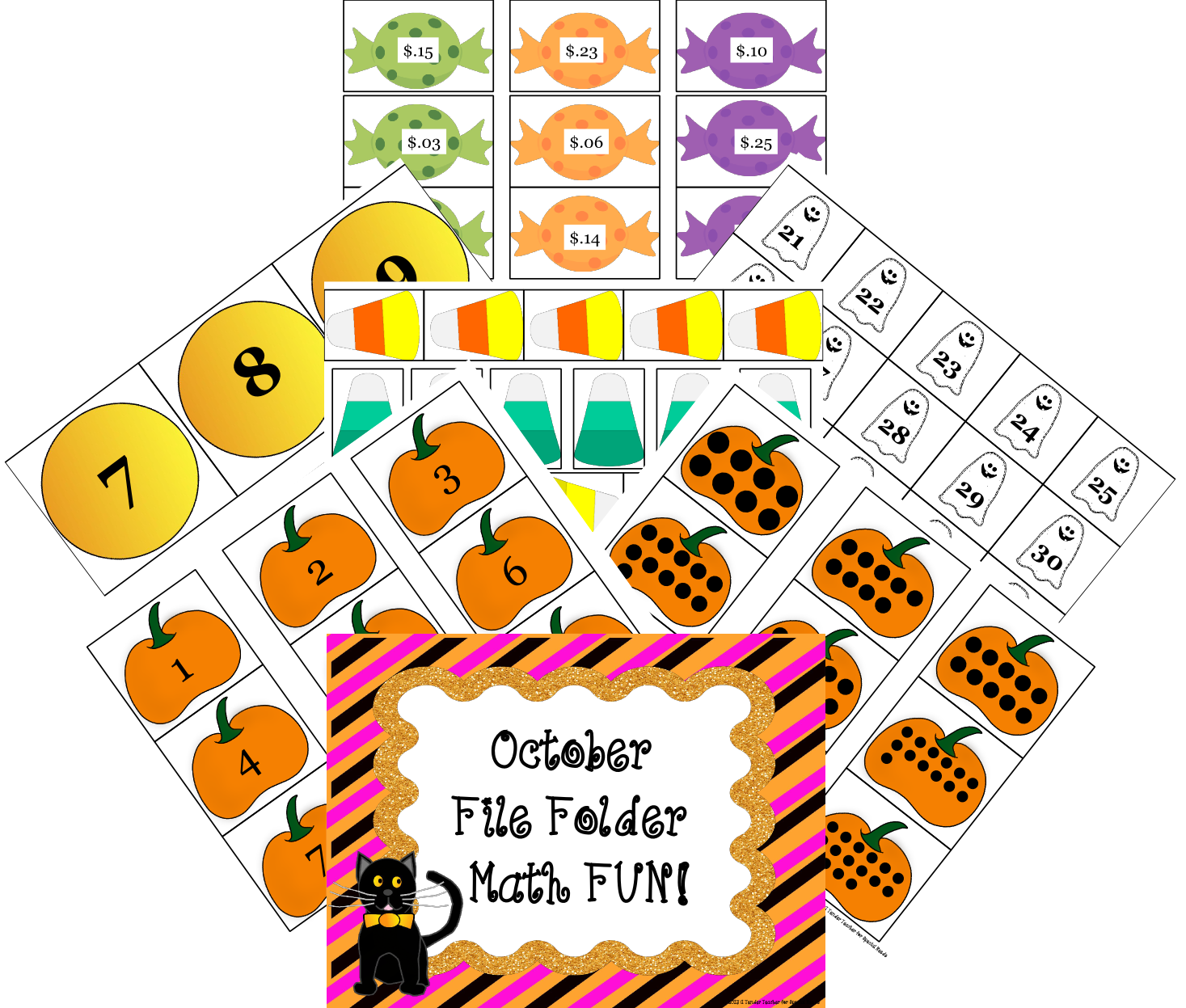 The Learning Highway File Folder Learning Activities