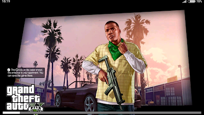 Grand Theft Auto : Sand Andreas Mod GTA 5 apk + obb + data