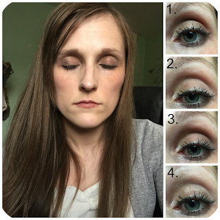 Maybelline blushed nudes look 3