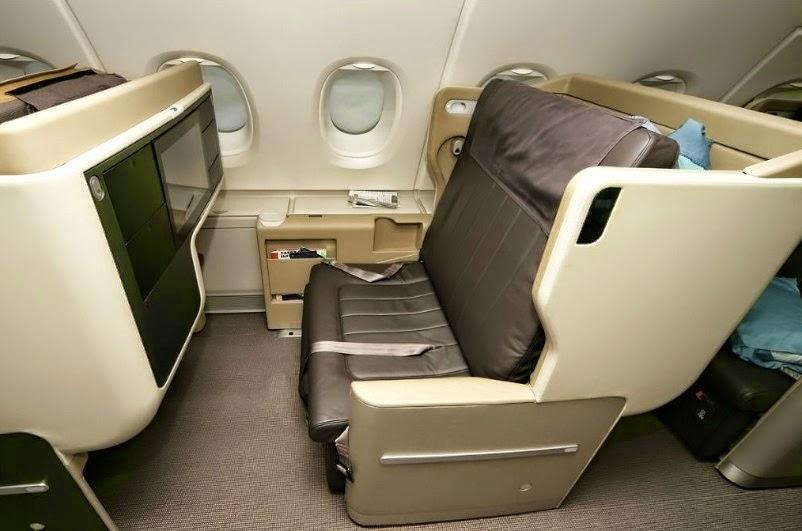 世界頂級航空公司的頭等艙與商務艙 - I Love Travel - 就是愛旅行