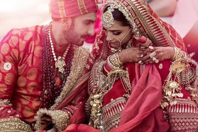Entertainment Manic Ranveer And Deepika Padukone Marriage Newly Married Couple