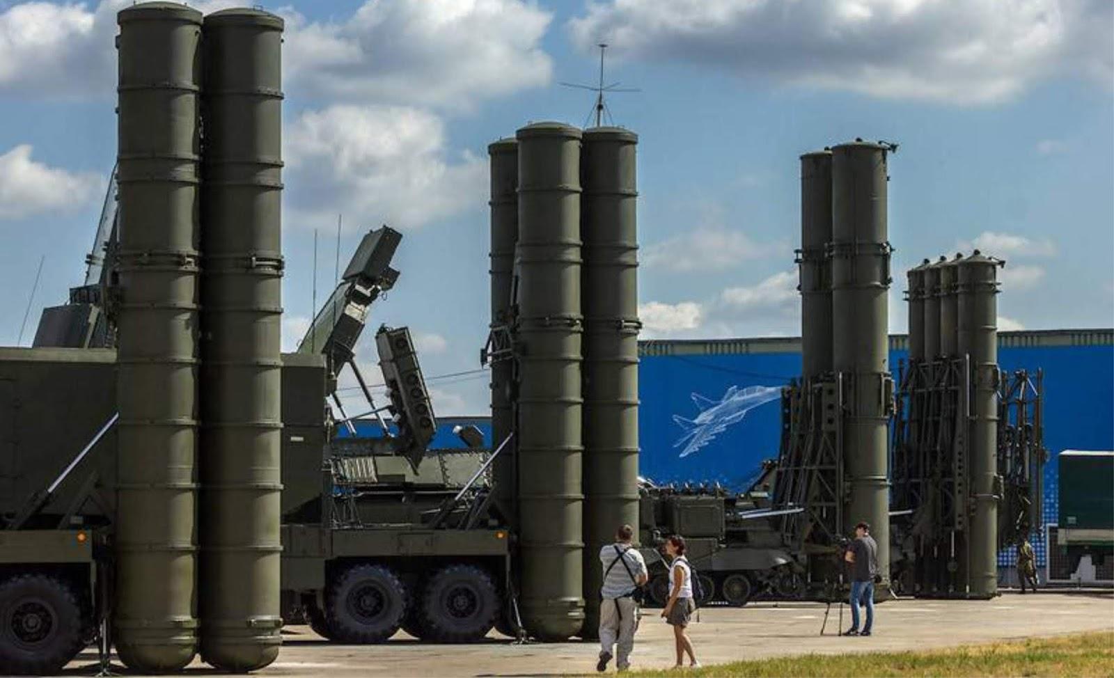 Deal Rusia-India telah menandatangani kontrak untuk pembelian S-400