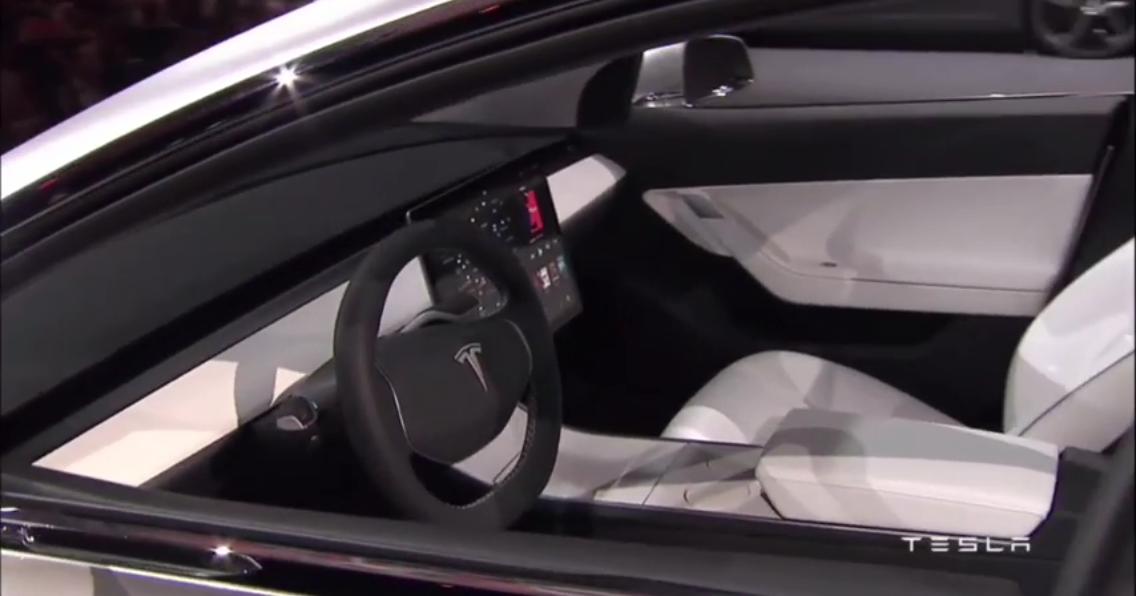 lektrisk model 3 med hud og full autopilot i alle fall