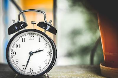 Clock with alarm bells