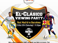 Have Fun On El-Clasico Viewing Party and Get A Chance to Win Fantastic Prizes from HyppTV!