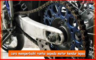 Cara Menyetel Rantai Motor Vixion, Supra X, Satria Fu Dan Cbr150r