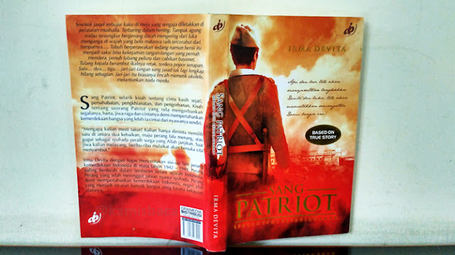 Novel Sang Patriot: Sebuah Epos Kepahlawanan Karya Irma Devita
