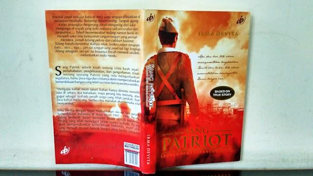 Review Novel Sang Patriot: Sebuah Epos Kepahlawanan Karya Irma Devita