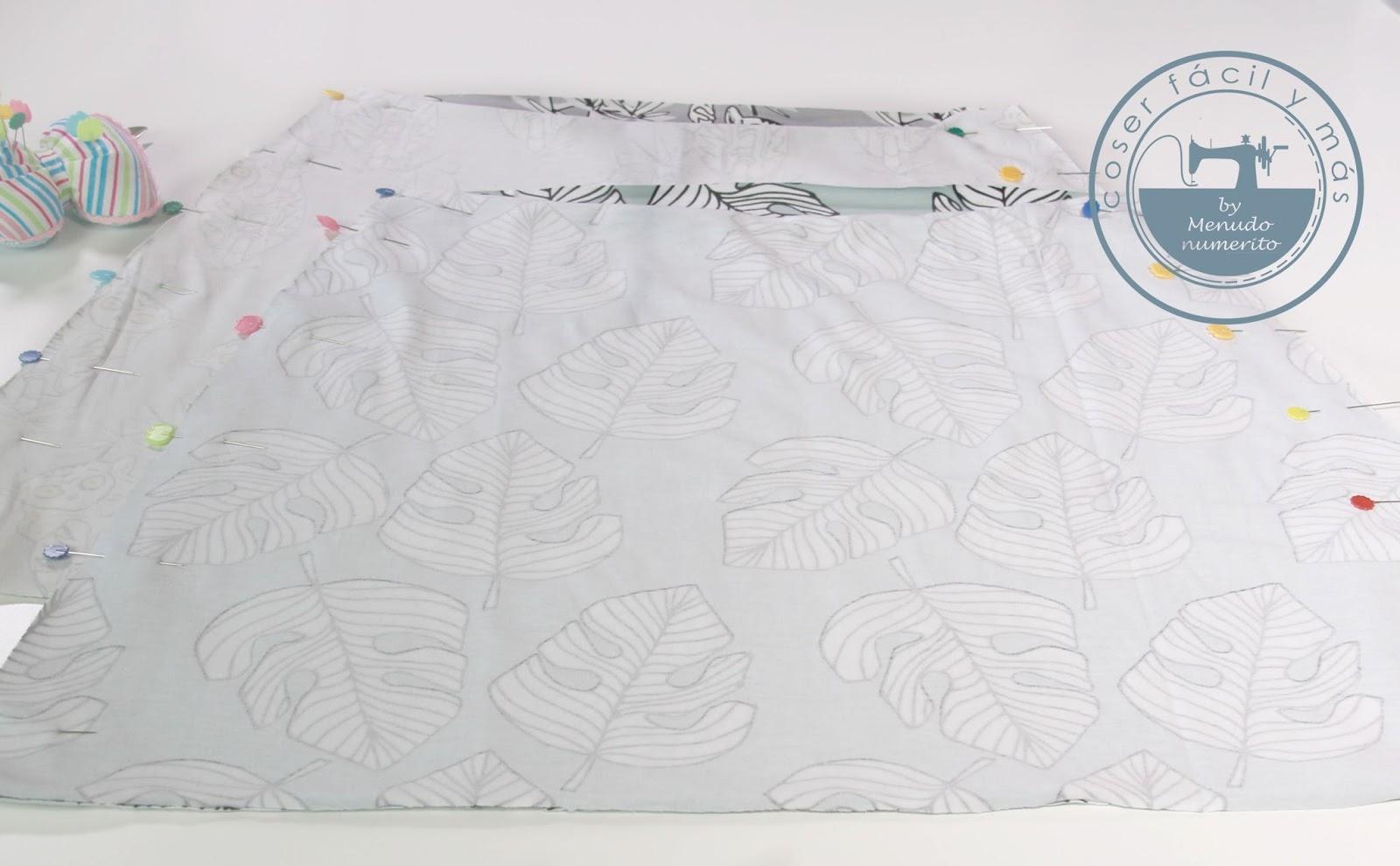 Cómo hacer una falda de punto reversible - El blog de Coser fácil y ...