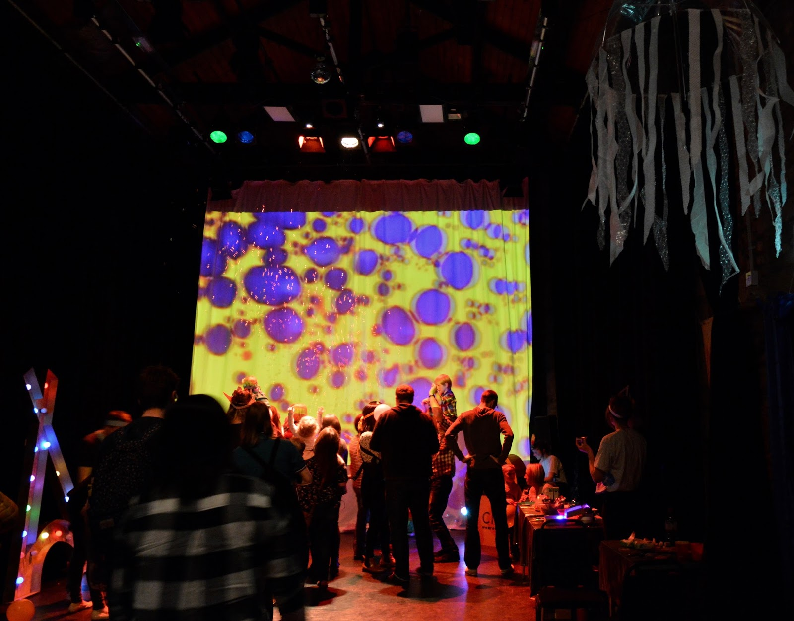 Arts Centre Washington | Events for Families (feat. Chalk's 1960's Family Rave) - rave backdrop