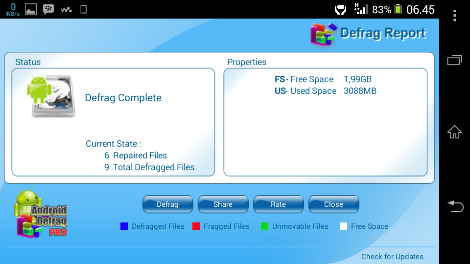 Android Defrag Pro free download