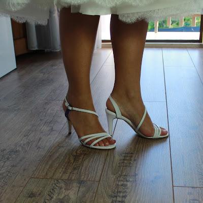 sandali bianchi sposa