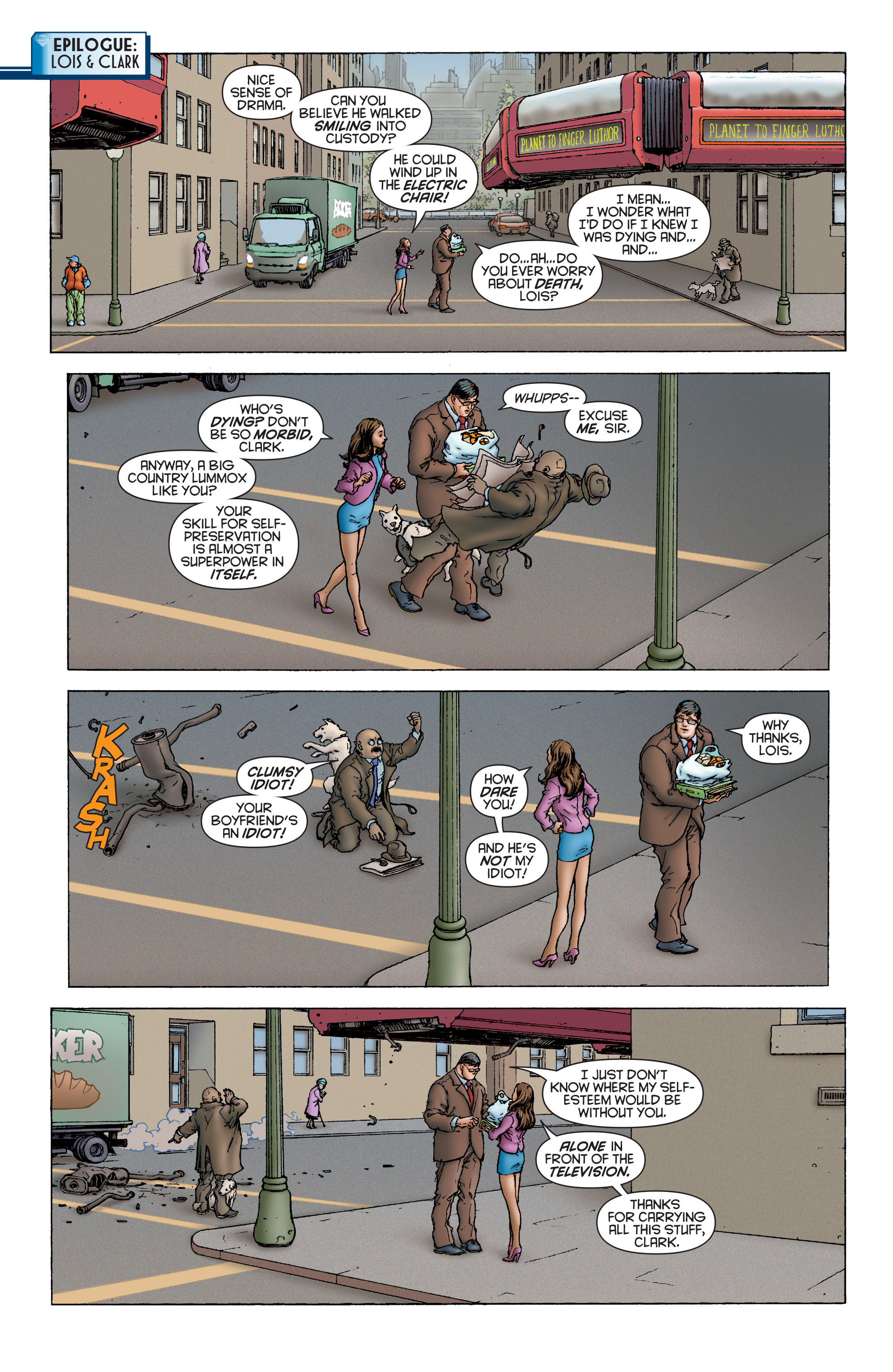 Read online All Star Superman comic -  Issue #1 - 21