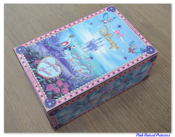 irregular choice disney cinderella box back