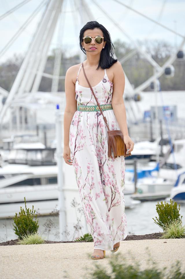 Cherry Blossom Dress-MariEstilo-Look of the day-Choies-LatinaBloggers-Fashion Blogger-ArmandHugon