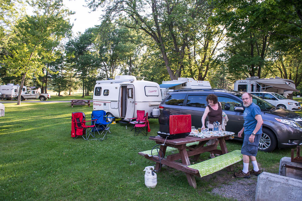Jon S Journeys Crown Point Campground Crown Point Ny