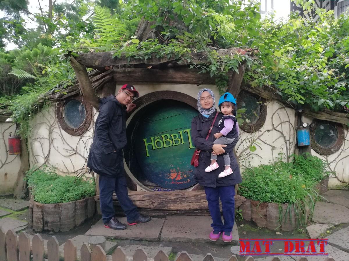 Mat Drat Trip Bercuti Bandung Day 1 Farm House Susu Lembang