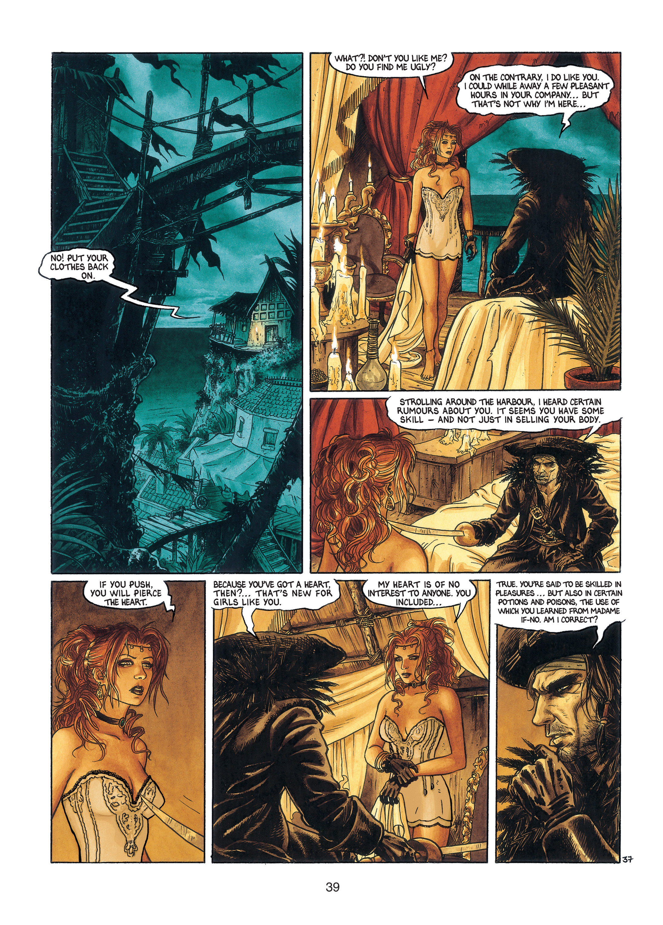 Read online Barracuda comic -  Issue #3 - 40